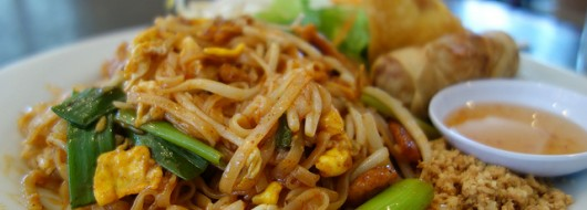 Thai Food is Served With a Spicy Kick at Bangkok Bistro at Ballston, Just Minutes From The Maxwell