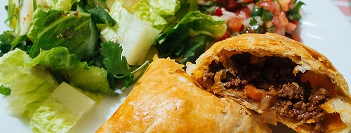 Grab an Affordable Bolivian Salteña at Pan American Bakery & Grill