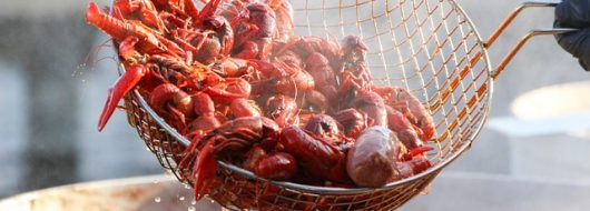 Newly Opened Asiatique Showcases Cajun and Japanese Seafood